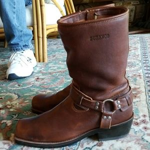 Durango Mens Zip Side Harness Boots